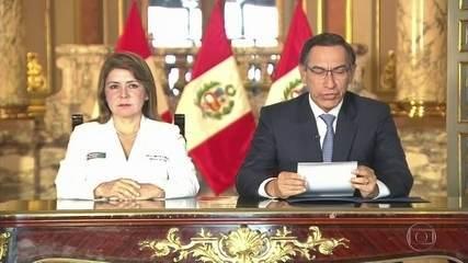 Peru registra primeiro caso de novo coronavírus