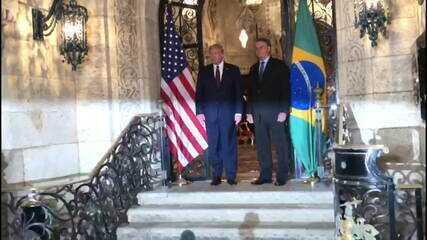 Bolsonaro se encontrou com Trump nos Estados Unidos em março