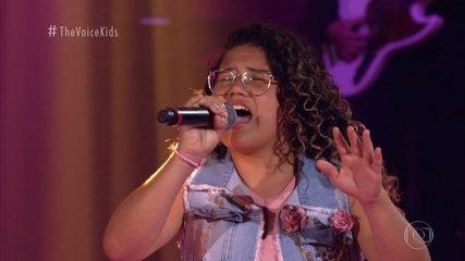 """Ana Clara Martins, Giovanna Diniz e Maria Eduarda Ribeiro cantam """"Samba de Verão"""""""