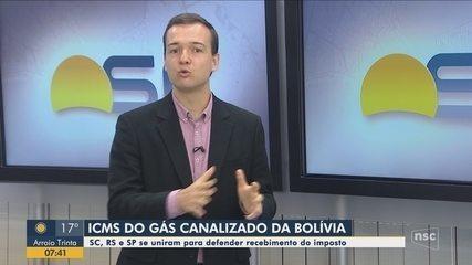 Quatro estados entraram na disputa pelo ICMS do gás natural; veja comentário sobre o tema