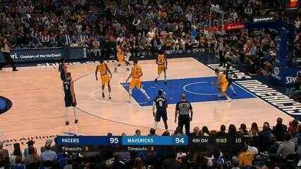 Melhores Momentos: Indiana Pacers 112 x 109 Dallas Mavericks
