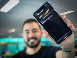 Como ativar o modo escuro do WhatsApp no iPhone (iOS)