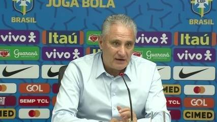 Tite lembra encontros com torcidas de Sport, Náutico e Santa e espera apoio à Seleção
