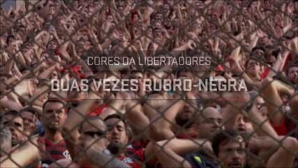 Cores da Libertadores #1: Duas vezes rubro-negra