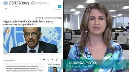 Nova onda de pânico domina mercados com a confirmação de pandemia do coronavírus