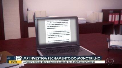 MP abre inquérito para investigar fechamento da Linha 15-Prata do Monotrilho