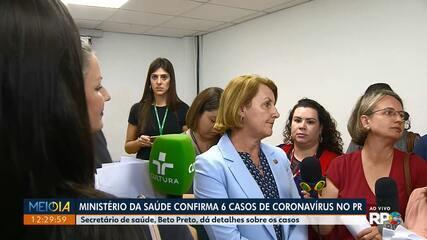 Cinco casos de coronavírus confirmados em Curitiba foram importados da Europa