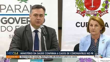 Curitiba tem 5 casos confirmados de coronavírus