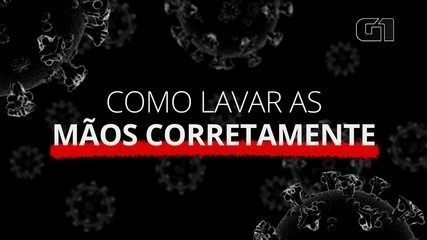 Coronavírus: como lavar as mãos da forma ideal?