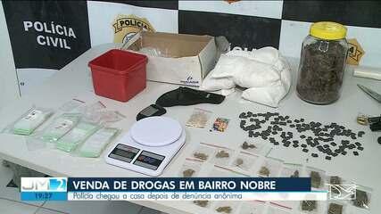 Polícia prende PM acusado de participar de quadrilha de venda de drogas em São Luís