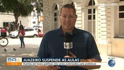Prefeito da cidade de Juazeiro suspende aulas da rede municipal para evitar coronavírus