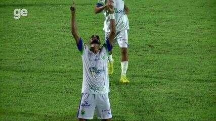 Os gols de Piauí 0 x 2 Altos pela décima rodada do Piauiense