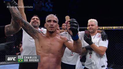 Melhores momentos de Kevin Lee x Charles do Bronx no UFC Brasília