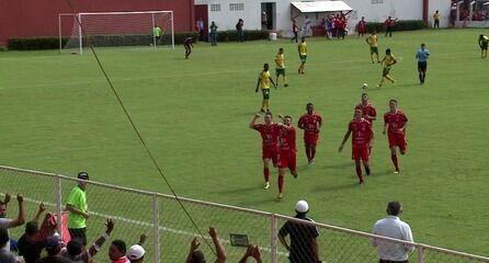 O gol de 4 de Julho 1 x 0 Picos pelo returno do Campeonato Piauiense