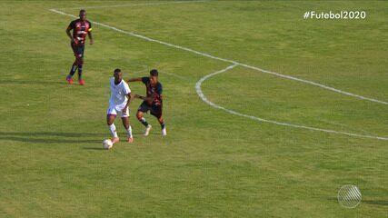 Jacuipense 1 x 0 Vitória: assista aos melhores momentos da partida do Campeonato Baiano