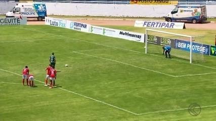 Uberlândia arranca empate com o Boa Esporte fora de casa