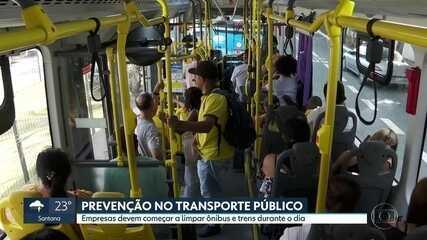 Governo e prefeitura prometem higienizar o transporte público com maior frequência