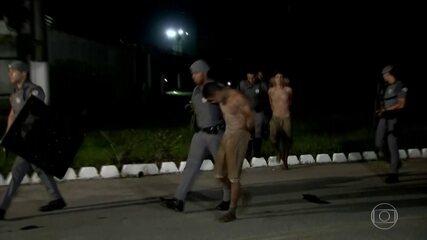 Pelo menos cinco presídios registram rebeliões com fuga de presos em São Paulo