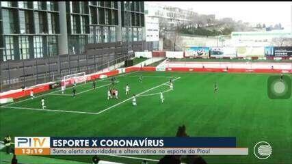 Pandemia do coronavírus muda calendário de competições esportivas