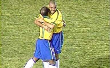 Em 1997, Brasil goleia Costa Rica pela Copa América