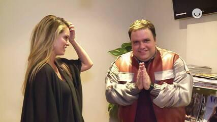 """Nos bastidores do """"Domingão do Faustão"""". Rodrigo Rodrigues contou como conciliar televisão e música"""