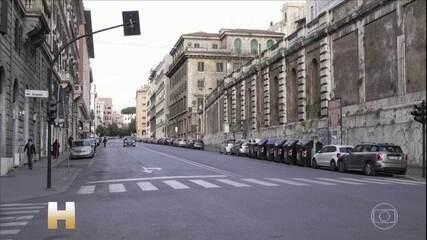 Na Itália, número de contaminados pela Covid-19 passa de 35 mil