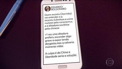 Eduardo Bolsonaro culpa China por pandemia do coronavírus e gera crise diplomática