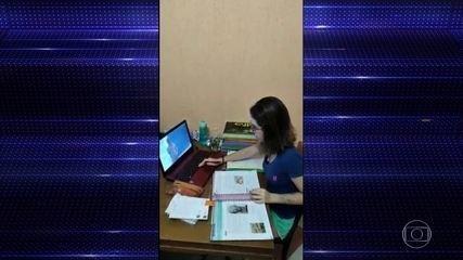 Tecnologia ajuda quem não quer parar de estudar durante o período de isolamento