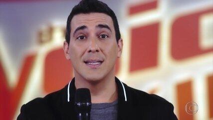 André Marques avisa que 'The Voice Kids' terá programas com os melhores momentos