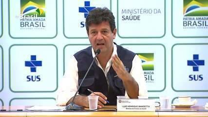 Ministro anuncia calendário de vacinação contra a gripe e alerta contra uso da cloroquina