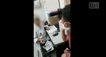 Funcionários de UBS de SP atendem sem máscaras pacientes suspeitos de Covid-19