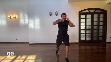 Personal Lyncon Frank monta treino para fazer em casa - parte 1