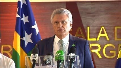 Caiado critica fala de Bolsonaro e diz que presidente não pode 'lavar as mãos'