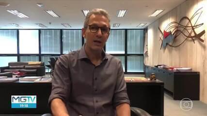 COVID-19: Romeu Zema diz que vai continuar seguindo as recomendações da OMS