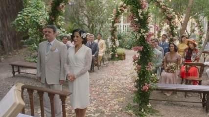 Afonso e Lola dizem sim no altar e sacramentam a união