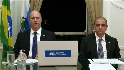 Governador do Rio decide prorrogar medidas de isolamento social contra o coronavírus