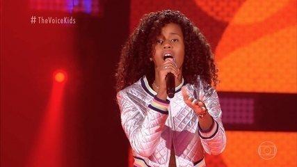 Melhores Momentos Audições ás Cegas: Karen Silva canta 'Ginga'