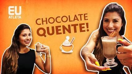 Nutricionista Aline Ferreira ensina a fazer um chocolate quente funcional para aquecer quarentena