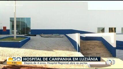 Depois de quatro anos, antigo Hospital Regional de Luziânia reabra as portas