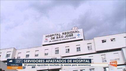 Servidores da rede estadual de saúde são afastados após contato com vítima de coronavírus