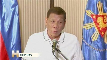 Presidente das Filipinas diz que mandou atirar em quem descumprir regras de isolamento