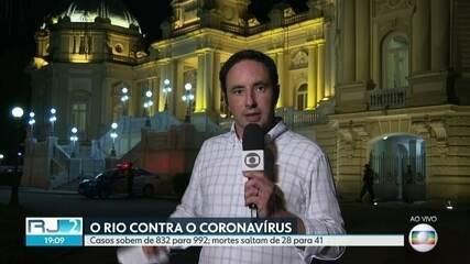 Mortes por coronavírus no RJ sobem para 41