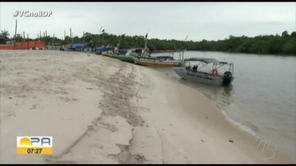 Pandemia da Covid-19 preocupa moradores da ilha de Algodoal