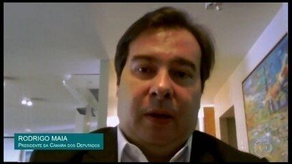 Covid-19: Maia critica setores do governo na resposta à crise provocada pela pandemia