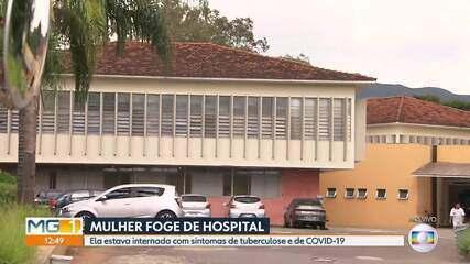 Mulher foge de hospital em Belo Horizonte