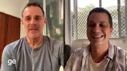 Boletim do Vasco: preparador de goleiros, Carlos Germano fala sobre parceria com Ramon
