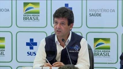 Ministro da Saúde, Luiz Henrique Mandetta, diz que fica no cargo