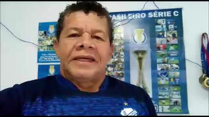Emocionado, Jacozinho fala sobre a saída do CSA do Mutange