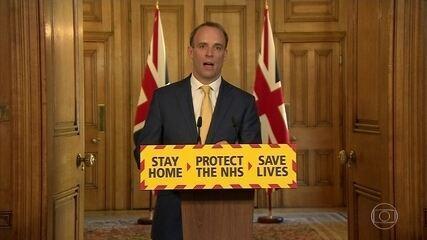 Ministro das Relações Exteriores assume governo britânico na ausência de Boris Johnson