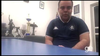 Presidente do Remo, Fábio Bentes explica recusa por proposta do Paysandu